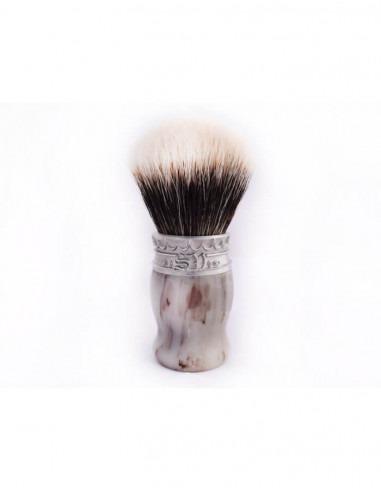 Помазок для бритья Saponificio Varesino Faux Horn Badger Manchuria