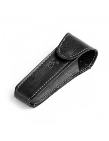 Mühle дорожный чехол для Т-образной бритвы Черная кожа