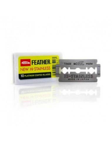 Сменные лезвия Feather 81-S Hi-stainless 10 шт