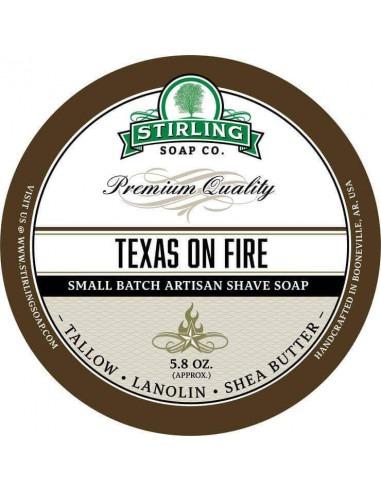 Мыло для бритья Stirling Soap Texas on Fire 170мл