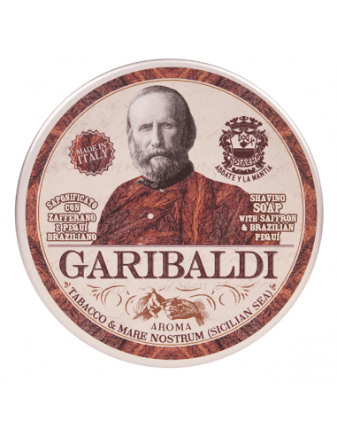 Мыло для бритья Abbate Y La Mantia Garibaldi 150мл
