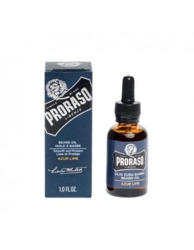 Proraso масло для бороды Azur Lime 30 мл