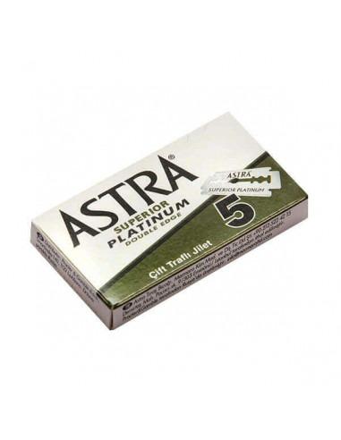 Сменные лезвия Astra Platinum 5 шт