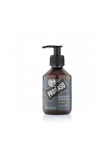 Proraso шампунь для бороды Cypress Vetyver 200 мл