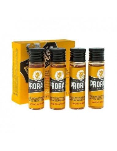 Proraso горячее масло для бороды 4 x 17 мл