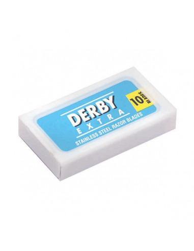 Лезвия для бритья двусторонние Derby Extra Blue 10 шт
