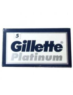 Лезвия для бритья двусторонние Gillette Platinum 5 шт.