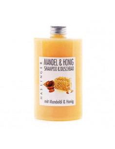 Шампунь-гель для душа Haslinger Миндаль и мед 200мл