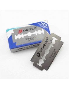 Лезвия для бритья двусторонние Dorco Platinum 10 шт.