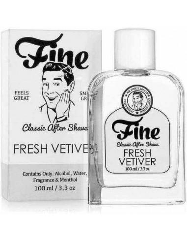 Лосьон после бритья Fine - Fresh Vetiver 100 мл