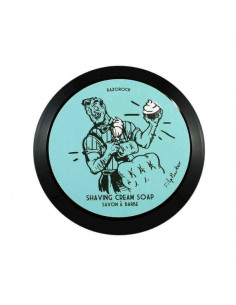 Мыло для бритья Razorock Blue Barbershop 150мл