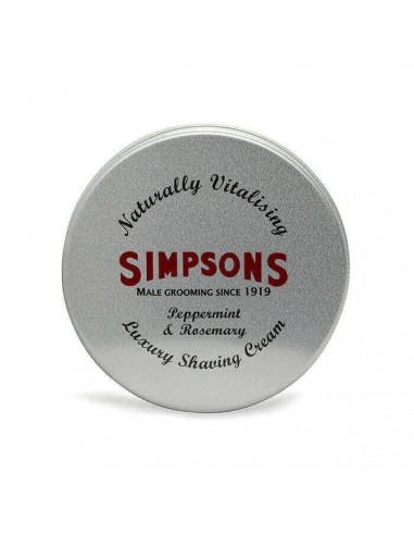 Крем для бритья Simpsons Peppermint Rosemary 125мл