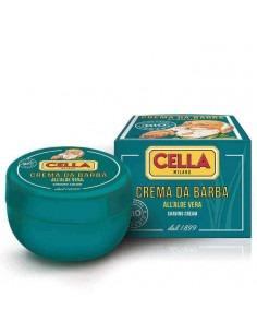 Крем мыло для бритья Cella Bio Aloe Vera 150мл