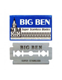 Лезвия для бритья двусторонние Big Ben 5 шт