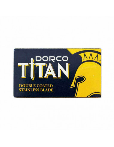 Лезвия для бритья двусторонние Dorco Titan 10 шт