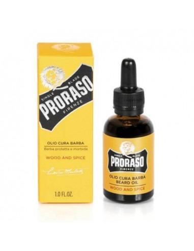 Масло для бороды Proraso Wood Spice 30мл