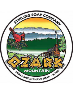 Мыло для бритья Stirling Soap Ozark Mountain 170мл