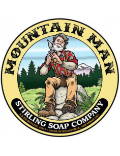 Мыло для бритья Stirling Soap Mountain Man 170мл
