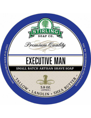 Мыло для бритья Stirling Soap Executive Man 170мл