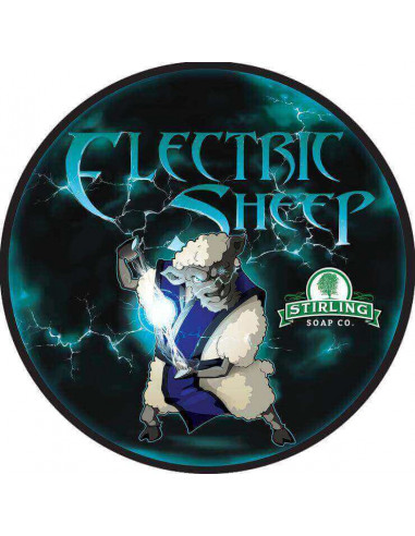 Мыло для бритья Stirling Soap Electric Sheep 170мл