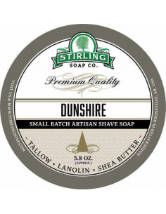 Мыло для бритья Stirling Soap Dunshire 170мл