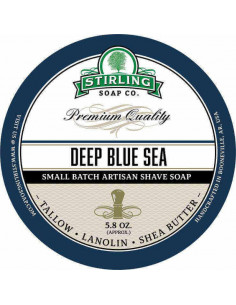 Мыло для бритья Stirling Soap Deep Blue Sea 170мл