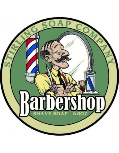 Мыло для бритья Stirling Soap Barbershop 170мл