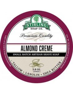 Мыло для бритья Stirling Soap Almond Creme 170мл