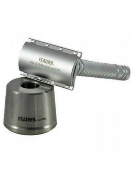 Feather (AS-D2S) T-образный станок для бритья с подставкой