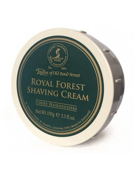 Крем для бритья Taylor of Old Bond Street Royal Forest