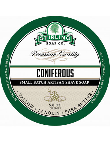 Stirling Soap Coniferous мыло для бритья 170 мл