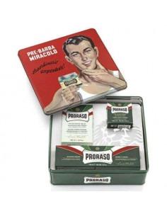 Подарочный набор для бритья Proraso Vintage Gino