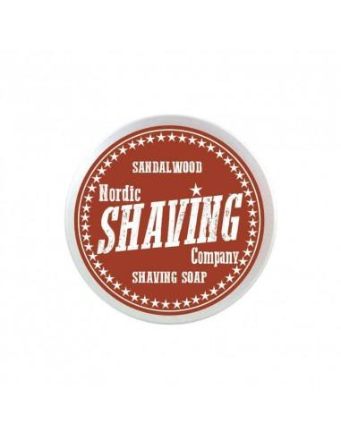 Мыло для бритья Nordic Shaving Company Sandalwood 80г