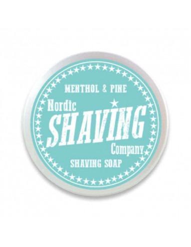 Мыло для бритья Nordic Shaving Company Menthol & Pine 80г