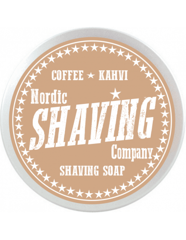 Мыло для бритья Nordic Shaving Company Coffee 80г