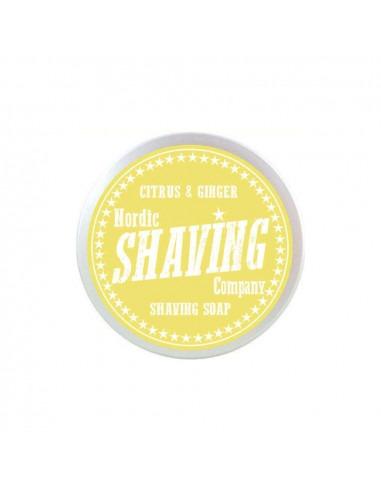 Мыло для бритья Nordic Shaving Company Citrus & Ginger 80г