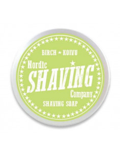 Мыло для бритья Nordic Shaving Company Birch 80г