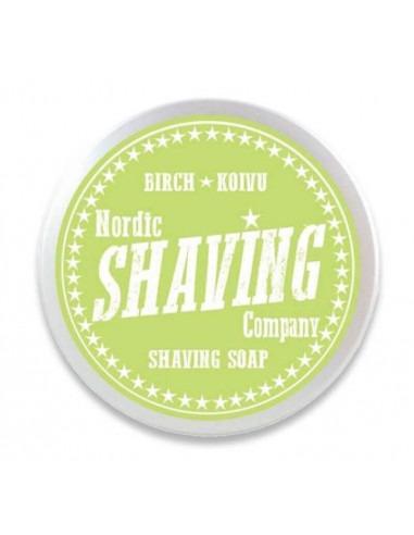 Мыло для бритья Nordic Shaving Company Birch 80г