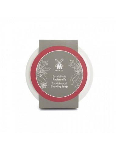 Мыло для бритья Mühle Sandalwood в фарфоровой чаше 65g