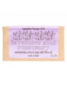 Мыло Saponificio Varesino Lavender Rosemary 300г