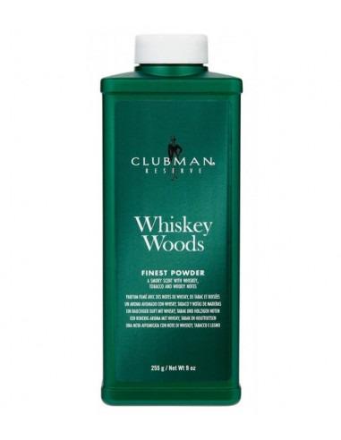 Тальк для тела Clubman Pinaud Whiskey Woods 255g