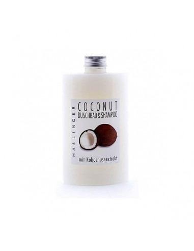 Шампунь-гель для душа Haslinger Coconut 200мл